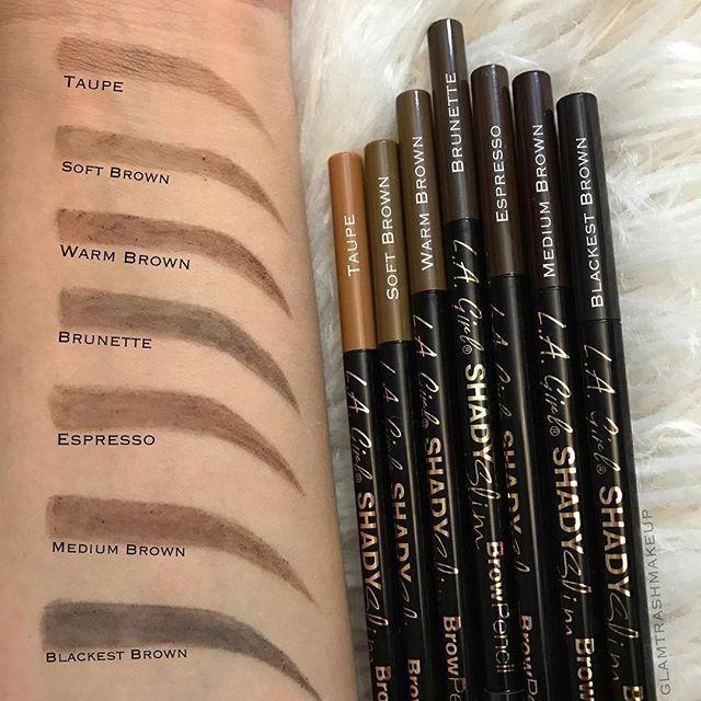 La Girl Shady Slim Brow Pencil La Moda Chic Beauty Store